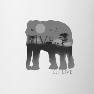 Live and let live - Coffee/Tea Mug