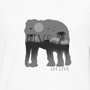 Live and let live - Men's Premium Long Sleeve T-Shirt