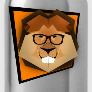 Cute Smart Lion - Water Bottle