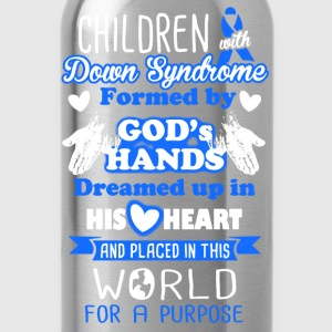Down Syndrome Shirt - Water Bottle
