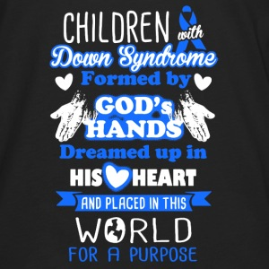 Down Syndrome Shirt - Men's Premium Long Sleeve T-Shirt