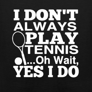 Play Tennis Shirt - Men's Premium Tank