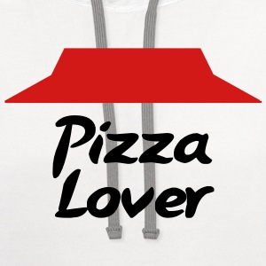 Pizza lover T-Shirts - Contrast Hoodie