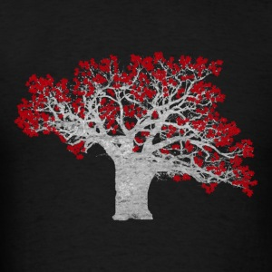 Crimson Tree - Men's T-Shirt