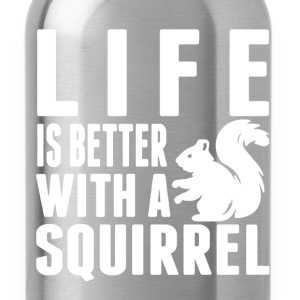 Squirrel Shirt - Water Bottle