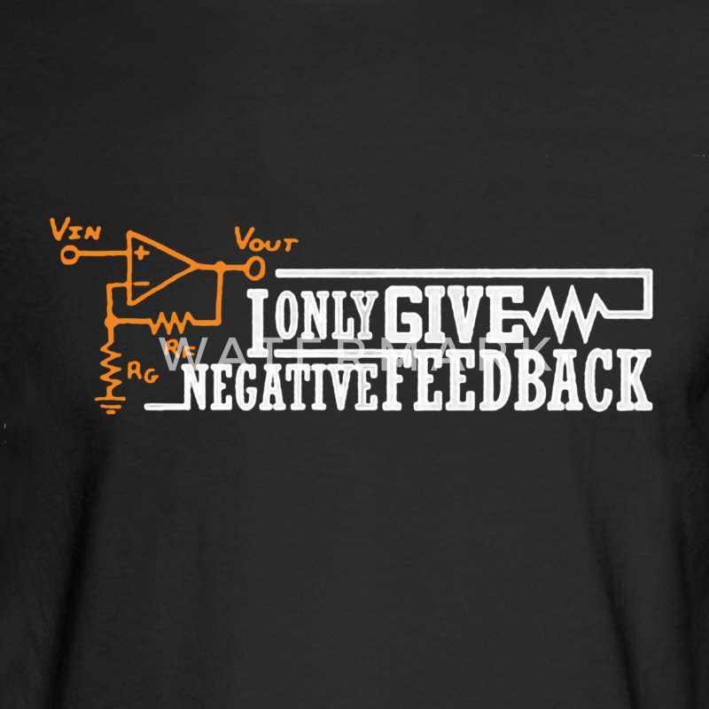 Negative Feedback Shirt - Men's Long Sleeve T-Shirt