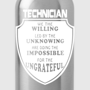 Technician Shirt - Water Bottle