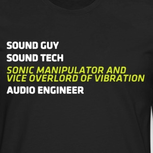 Audio Engineer Shirt - Men's Premium Long Sleeve T-Shirt