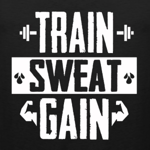 Train Sweat Gain - Men's Premium Tank