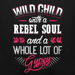 Wild Child With Rebel Soul - Men's Premium Tank