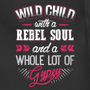 Wild Child With Rebel Soul - Adjustable Apron