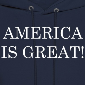 America Is Great! - Men's Hoodie