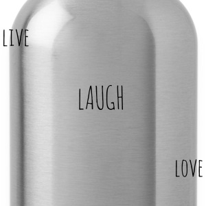 Live Laugh Love  - Water Bottle