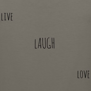 Live Laugh Love  - Men's Premium Tank