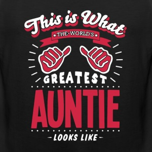 Greatest Auntie Shirt - Men's Premium Tank