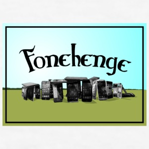 Fonehenge - Men's T-Shirt