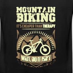 Mountain Biking Therapy Shirt - Men's Premium Tank
