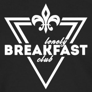 Lonely Breakfast Club White - Men's Premium Long Sleeve T-Shirt