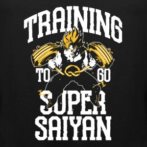 Training Goku Shirt - Men's Premium Tank