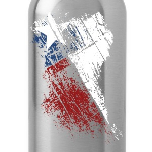 Texas Flag Shirt - Water Bottle