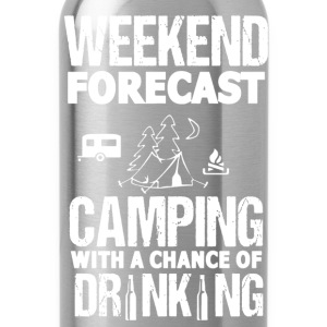 Camping Weekend Forecast - Water Bottle