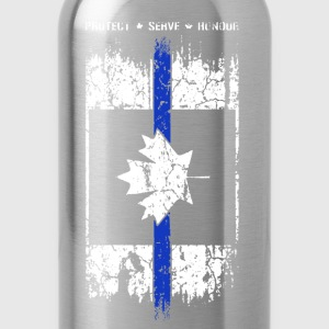 Thin Blue Line Canada - Water Bottle