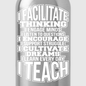 Teach Shirt - Water Bottle
