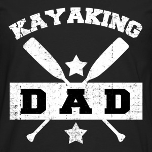 KAYAKING DAD5689.png T-Shirts - Men's Premium Long Sleeve T-Shirt