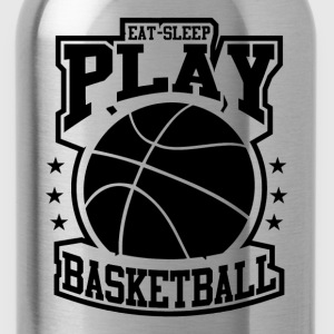 Eat Sleep Play Basketball T-Shirts - Water Bottle
