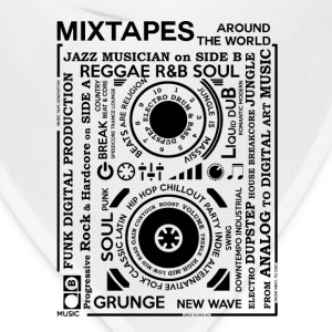 Genres of a mixtape - Fontart Audio cassette  T-Shirts - Bandana