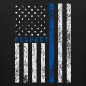 Respect Policemen T-Shirts - Men's Premium Tank