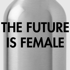 The future is female T-Shirts - Water Bottle