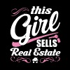 This Girl Sells Real Estate - Women's Premium T-Shirt