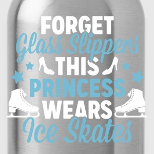 This Princess Wears Ice Skates - Water Bottle