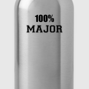100% major T-Shirts - Water Bottle