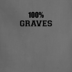100% graves T-Shirts - Adjustable Apron