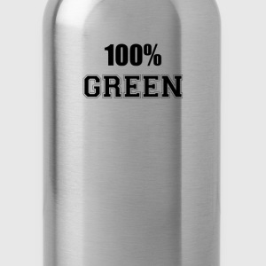 100% green T-Shirts - Water Bottle