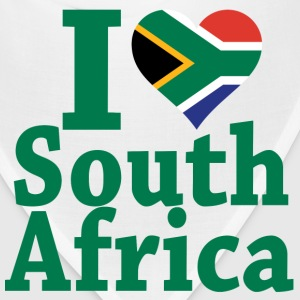I love South Africa Flag T-Shirt - Bandana