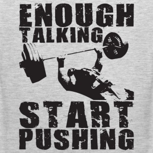 Start Pushing - Bench Press Motivation T-Shirts - Men's Premium Tank