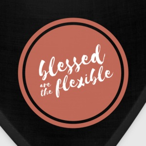 Blessed Are The Flexible Backpack - Bandana