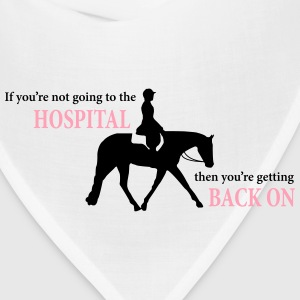 Stock Horse Ridden English with Quote T-Shirts - Bandana