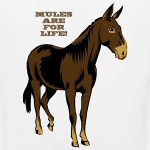 Mules Are For Life! - Men's Premium Tank