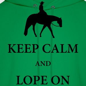 Western Pleasure Horse Silhouette with Quote T-Shirts - Men's Hoodie