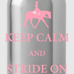 Quarter Horse: Hunter Under Saddle Silhouette  T-Shirts - Water Bottle
