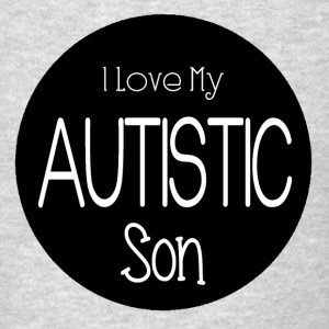 I Love My Autistic Son Shirt - Men's T-Shirt