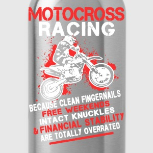 Motocross Racing Shirt - Water Bottle