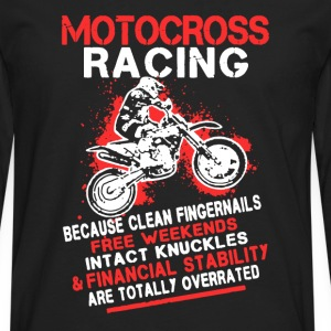 Motocross Racing Shirt - Men's Premium Long Sleeve T-Shirt