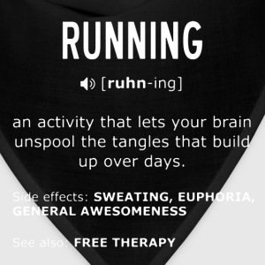 Definition of Running - Bandana