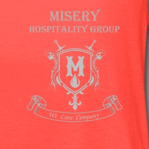 Misery Hospitality Group - We love company - Women's Flowy Tank Top by Bella