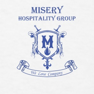 Misery Hospitality Group - We love company - Men's T-Shirt